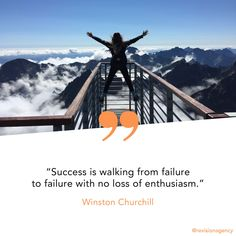 Look, nothing is easy. Failure is not easy. But it's the way to your best self. Fail away and keep your eye on the prize. Success Mindset, Success Quotes, Motivational Words, Inspirational Quotes, Eyes On The Prize, Best Self, Churchill, Monday Motivation, Motivationalquotes