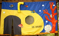 """Ethan wants a """"real"""" submarine for Christmas - KinderPlay at Etsy is amazing! Creative Fun for Imaginative Kids"""