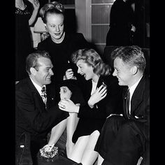 Lucy with Red Skelton, Skelton's first wife Georgia, and Van Johnson