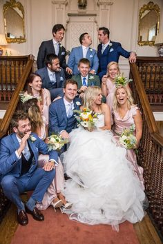 The staircase at Ardington House is one of many places for a great photo! Georgian, Great Photos, Wedding Venues, Places, House, Beautiful, Wedding Reception Venues, Wedding Places, Georgian Language