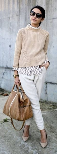 Moda anti-idade: O outono elegante e confortável   De Frente Para O Mar
