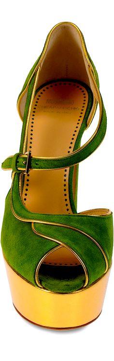 #Stunning Women Shoes #Shoes Addict #Beautiful High Heels #Wonderful Shoes #Shoe Porn    Moschino - Cheap and Chic