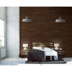 Genuine engineered hardwood wall planks with adhesive peel and stick backs. Available in many styles and colors, shop peel and stick wood wall planks today. Stick On Wood Wall, Peel And Stick Wood, Cafe Interior, Interior Walls, Wallpaper Removal Solution, How To Make Headboard, Wood Panel Walls, Fireplace Wall, Engineered Hardwood