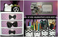 DIY Desk Organization & Decor Ideas!