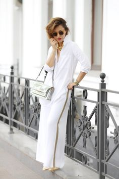 total white summer outfits,
