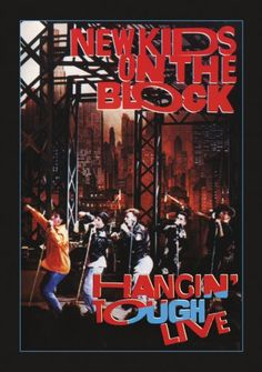 New Kids On The Block: Hangin' Tough Live on VHS