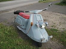 so many cool scooters in Germany... like the Heinkel Tourist