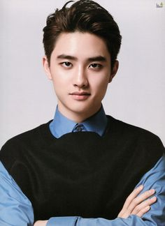 [EXO] Ugh! Could I be punished with a more handsome young man? I'm barely managing to contain the screams right now.  @DokyungSoo @Exok