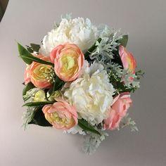 Peach wedding bouquet, Wedding bouquet peach, Bridal bouquet peach, Peony bouquet, Wedding bouquet, Bridal bouquet, Peach bridal bouquet, Peonies Bouquet, Peony, Silk Wedding Bouquets, Bridal, Unique Jewelry, Handmade Gifts, Kid Craft Gifts, Craft Gifts, Peonies