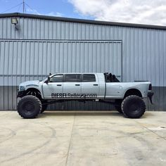Somehow I managed to paint my new building the same color as my truck. Diesel Trucks, Cummins Diesel, Dodge Cummins, Dodge Trucks, Ram Trucks, Lowered Trucks, Lifted Trucks, Pickup Trucks, Lifted Dodge