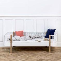Oliver Furniture Bett Bettsofa Tagesbett Wood Collection Eiche 90x200 cm
