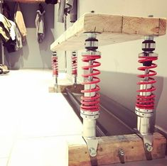 Shock Absorber Bench