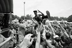 to keep your style in the mosh pit - tie those laces and keep your headband tight!