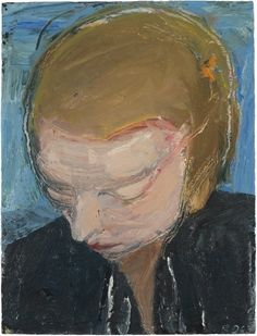 richard-diebenkorn-woman's-head,-blue-background.jpg (366×480)