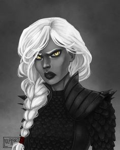 Occasionally, I draw - I love Manon Blackbeak