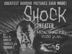 Horror hosts would present the late-night monster movies, giving the viewer a bloody buddy to watch the movie with, make the scary movies fun and the bad movies better. In this episode of Boys and Ghouls, we present the hosts that presented the horror Sci Fi Films, Horror Films, Horror Pictures, Vintage Horror, Vintage Tv, Best Documentaries, Famous Monsters, Old Tv Shows, Creature Feature