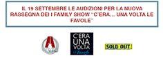 Claudia Grohovaz: AUDIZIONI per la nuova stagione FAMILY SHOW