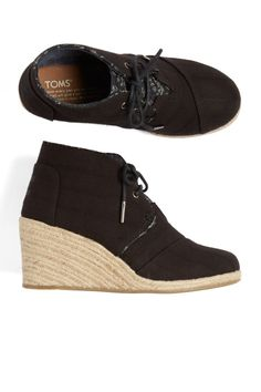Stitch Fix Spring Shoes: Espadrille Wedge Booties