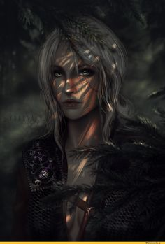 Цири-Witcher-Персонажи-The-Witcher-фэндомы-4139946.png (1000×1465)