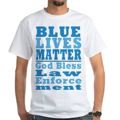 Blue Lives Matter Favorite Tee #BlueLivesMatter #GodBlessLawEnforcement #BackTheBlue #SupportLawEnforcement shirts mugs aprons pjs pillows thermos products - for all this design click here - http://www.cafepress.com/dd/105929218