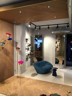 Design Shop, Store Design, Boutique, Hat Display, Hat Stands, Hat Shop, Made In France, Retail Design, Rue