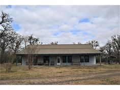20202 County Road 120 Iola TX 77861 by RE/MAX Bryan College Station 17000271 Quiet country escape! Spread out in over 1800 sq. ft. on 16 acres in Iola school district! 3 Bedroom / 2 Bath hardi-planked ranch style home with metal roof. Enjoy the quiet evenings on over-sized front and back porches. Front portion of land is wooded and back portion is open pasture, partially fenced. Gorgeous pond! Aerobic septic system, Wickson Water, Ag exemption currently in place.