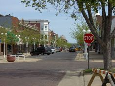 Downtown St. Joseph Michigan ... Have been there once, would love to go back!