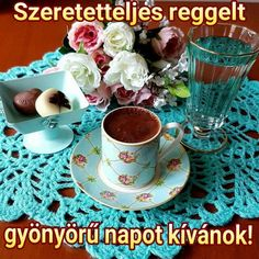 Good Morning Coffee, Good Morning Good Night, Coffee Love, Coffee Art, Chocolate Coffee, Tea Time, Tea Cups, Tableware, Instagram Posts