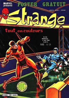 Couverture de Strange -138 - Strange 138