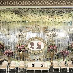 The elegant wedding stage at kempinski hotel jakarta decoration by adi paulina wedding stage at ambarukmo hotel yogjakarta lotusdecoration johankusnadi junglespirit Gallery