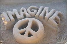 Peace. Imagine ✌