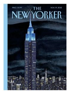 The New Yorker Cover - November 19, 2012 Poster Print  by Mark Ulriksen at the Condé Nast Collection