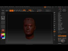 ZBrush Tutorial - Mesh Extraction / Topology - YouTube