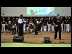 6 Encontro Nacional amigos de Chico Xavier e sua obra - Coral vida e luz - Baba Yetu - YouTube