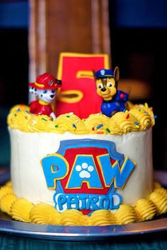 paw patrol birthday cake - Google Search