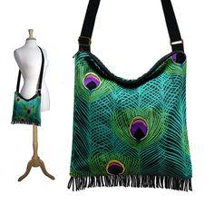Bohemian Gypsy Fringe Bag Purse with by janinekingdesigns on Etsy, $49.99
