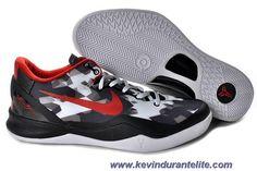555035-718 Black White Red Nike Zoom Kobe VIII 8 Sale