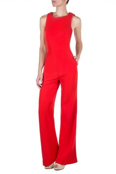 Pantalones y Shorts en Las Oreiro : ENTERITO WASP New Outfits, Summer Outfits, Fashion Outfits, Formal Jumpsuit, Red Fashion, Womens Fashion, Business Casual Outfits, Chic Dress, Casual Wear