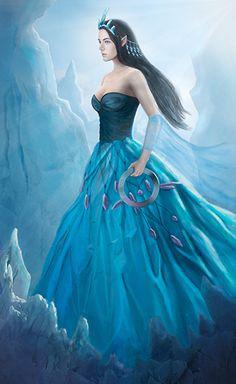 Ice Queen by Sirinne on DeviantArt