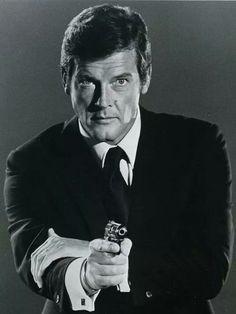 Moore as James Bond