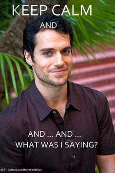 Henry Cavill, love it