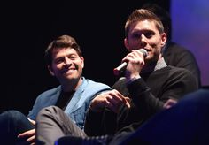 When Misha Gazed Longingly at Jensen