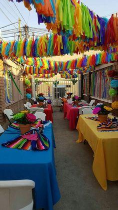 fiesta and llama party ideas Mexican Birthday Parties, Mexican Fiesta Party, Fiesta Theme Party, Birthday Party Themes, Mexico Party Theme, 30th Birthday, Taco Party, Theme Parties, Birthday Ideas