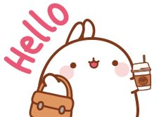 Molang Chibi Kawaii, Kawaii Art, Cute Cartoon Drawings, Kawaii Drawings, Chibi Food, Molang, Kawaii Stickers, Best Candy, Cute Characters
