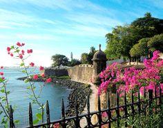 Puerto Rico, San Juan. Very Pretty. ✿ ✿´¯`*•.¸¸✿ :*~❥✿´¯`*•.¸¸❤ O
