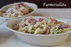 Farmersaláta Potato Salad, Potatoes, Ethnic Recipes, Food, Potato, Meals, Yemek, Eten