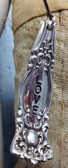 ViNTaGe uPCyCLeD SPooN FoRK JeWeLRy PeNDaNT  by JuLieSJuNQueTiQue, $9.00