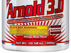 Pré-Treino Arnold 3D Laranja 300g - Arnold Nutrition com as melhores condições…