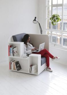 Open Book Chair