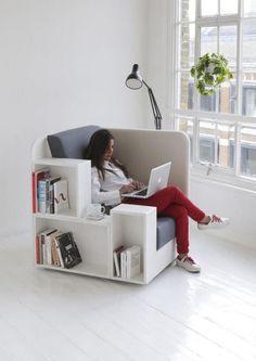 Open Book Chair